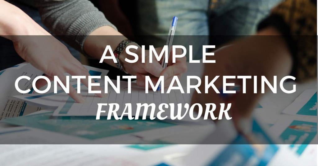 A Simple Content Marketing Framework